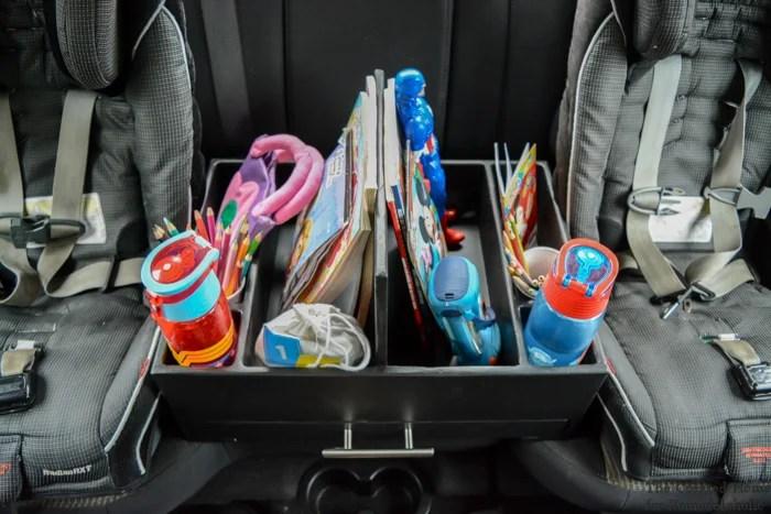 Remodelaholic Diy Backseat Car Organizer For Kids