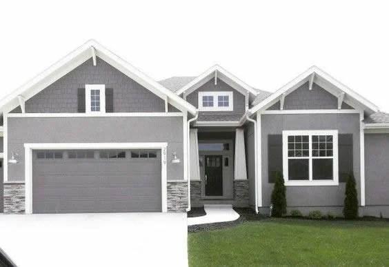 Remodelaholic | Real Life Rooms: Garage Door Curb Appeal ... on Garage Door Colors Pictures  id=85746