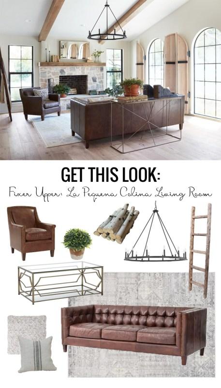 Fixer Upper La Pequena Colina Living Room