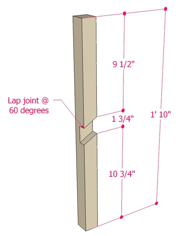 Multi Use Side Table Building Plan Apieceofrainbowblog (3)