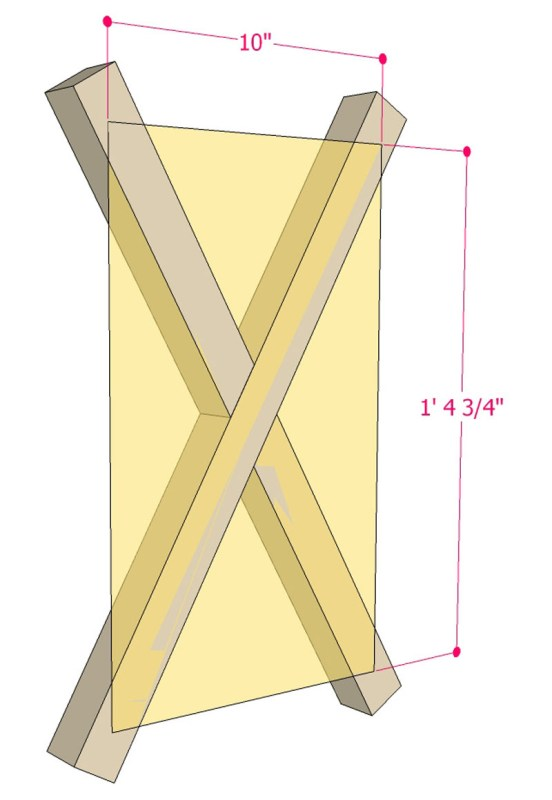 Multi Use Side Table Building Plan Apieceofrainbowblog (5)