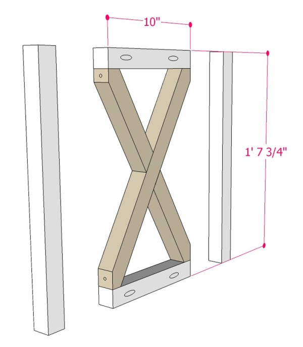 Multi Use Side Table Building Plan Apieceofrainbowblog (6)