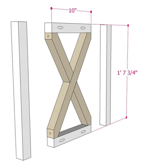 Multi Use Side Table Building Plan Apieceofrainbowblog (6)