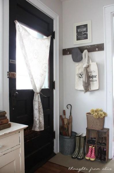 Small Entryway Rustic Farmhouse