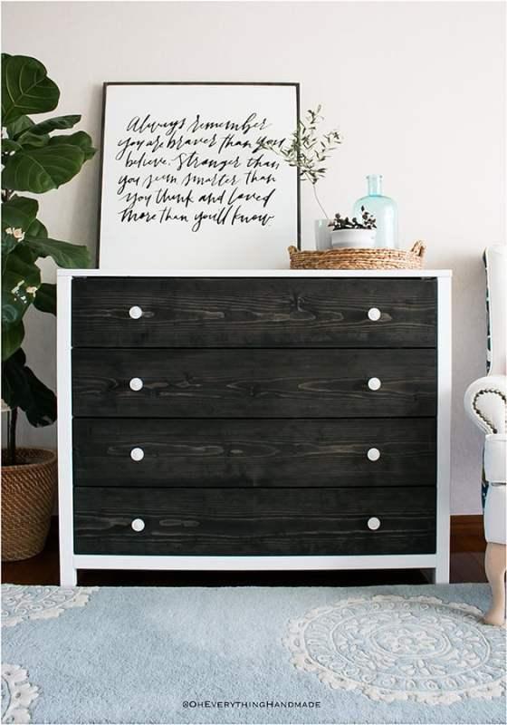 Best DIY Tutorials And Tips, Modern Farmhouse Dresser Oh Everything Handmade