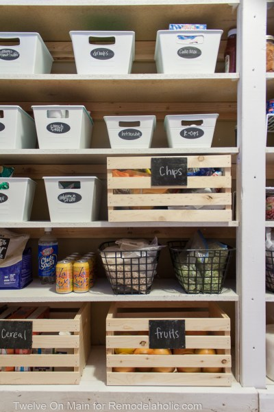 How To Organize Large Pantry On Budget (8 Of 9)