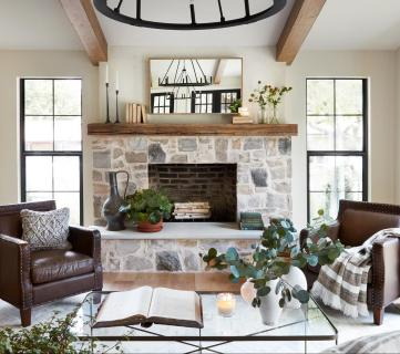 Get This Look: Fixer Upper La Pequeña Colina Living Room