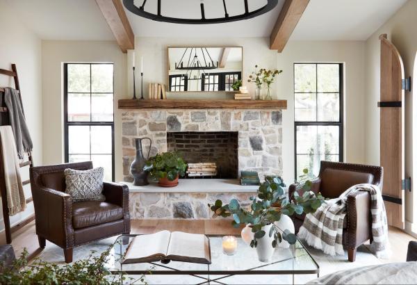 Get This Look: Fixer Upper La Pequeña Colina Living Room