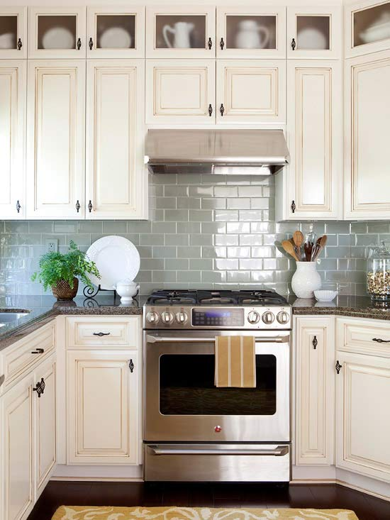 Colorful Kitchen Backsplash Ideas Sage Green BHG