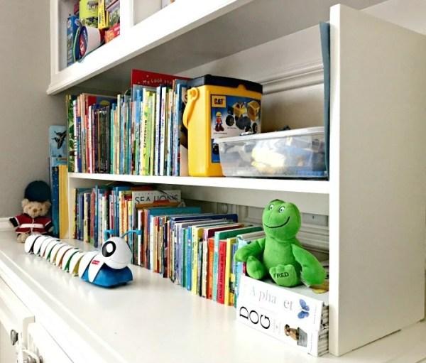 Diy Kids Bookshelf Storage, Abbotts At Home