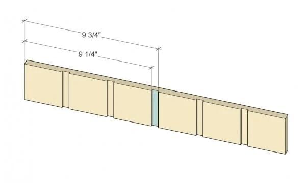 Remodelaholic Removable Utensil Drawer Organizer Step 5b