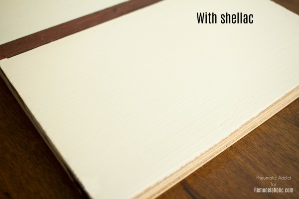 White Paint Shellac Primer Prevent Bleed Through WM