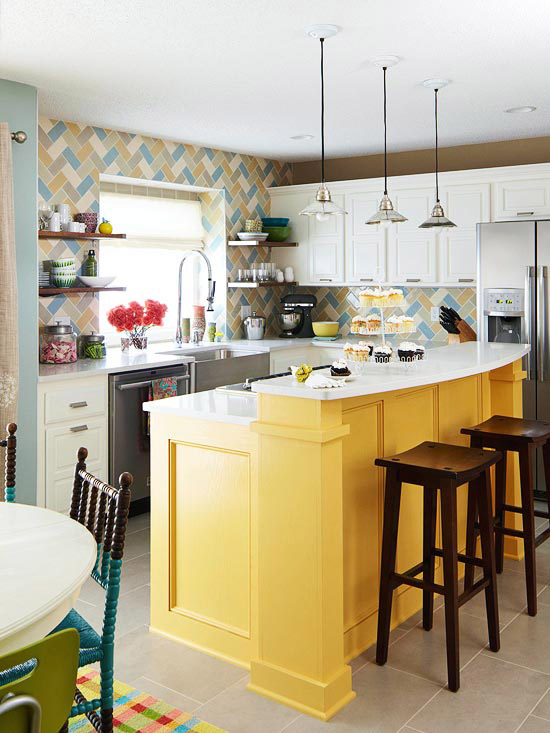 Remodelaholic How Make Mustard Yellow Work Your Home Decor