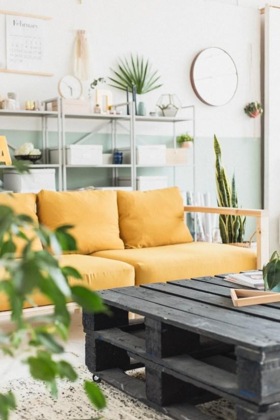 Remodelaholic Color Files Studio Sofa DIY Fallfordiy