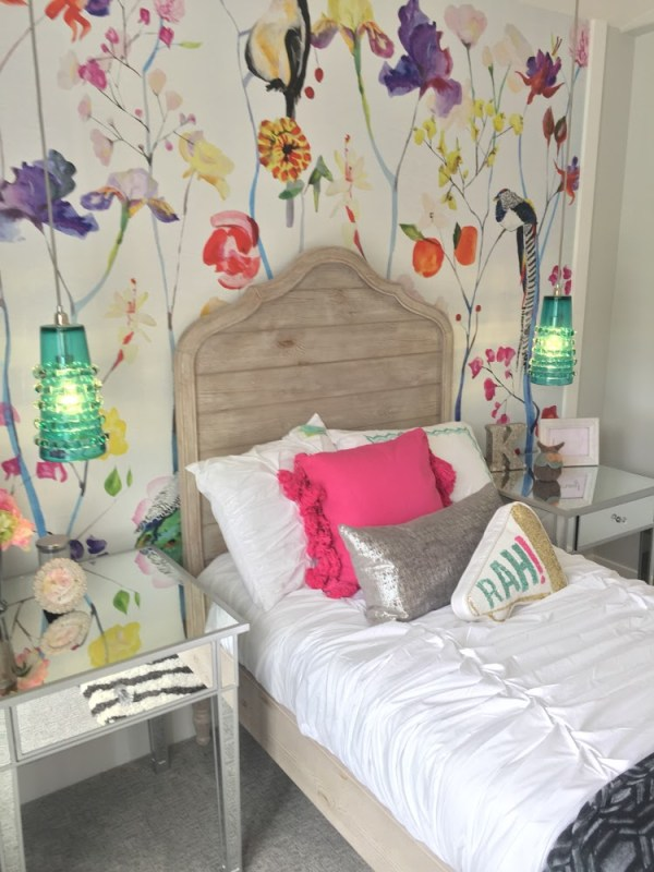 Remodelaholic Get This Look Colorful Eclectic Girl Bedroom 5