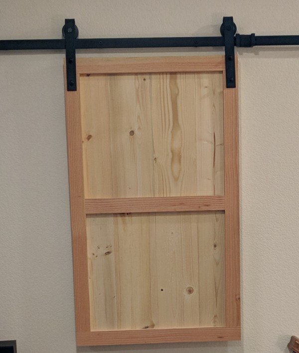 Denise Window Covering Barn Doors Unfinished