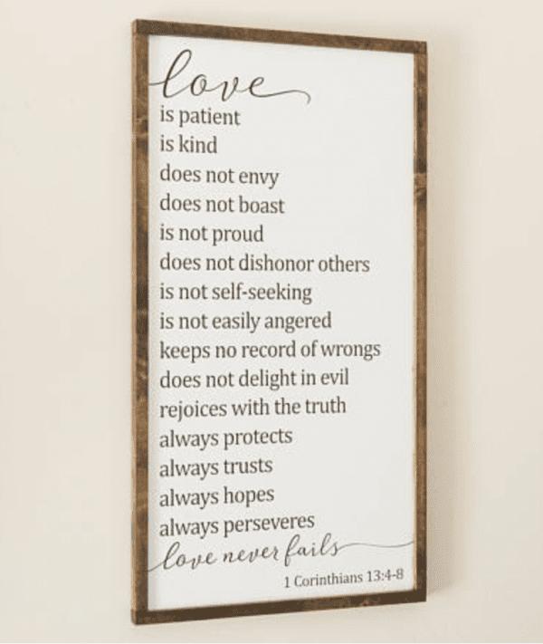Love Poster, Etsy