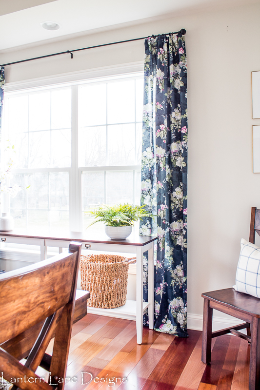 No Sew Curtains With Faux Pinch Pleats, Lantern Lane Designs