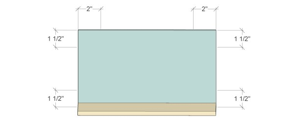 Remodelaholic Spice Cupboard Pocket Hole Layout2a
