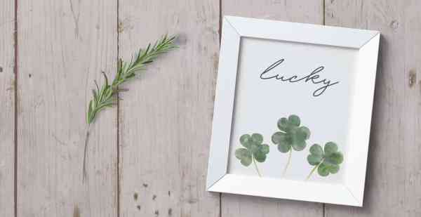 St Patricks Day Printable Art, Home Beautifully