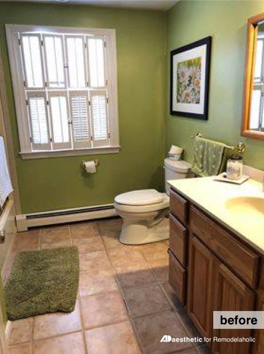Real Life Rooms: Budget Friendly Bathroom Update   How To Update A Bathroom  On A