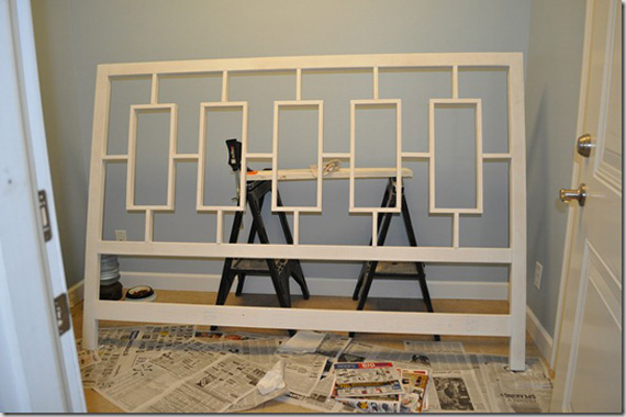 DIY Headboard Tutorial, By Decor And The Dog Featured On @Remodelaholic
