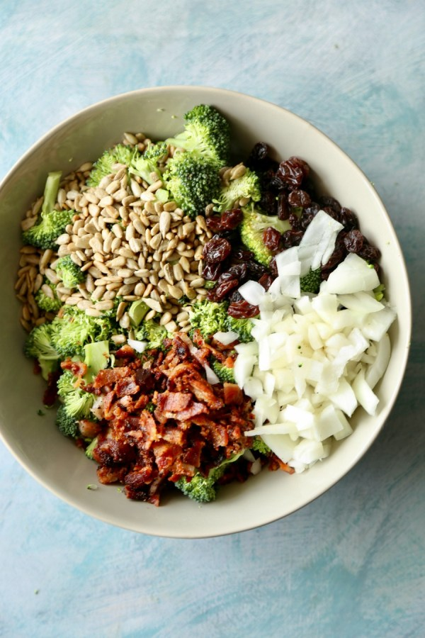 Remodelaholic Recipe Broccoli And Bacon Salad 3