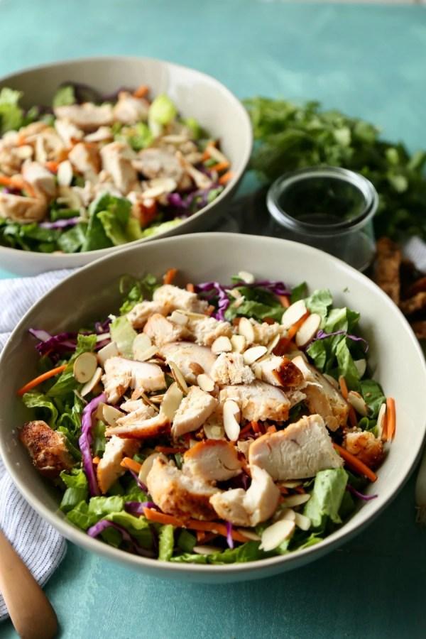 Remodelaholic Recipe Oriental Chicken Salad 2