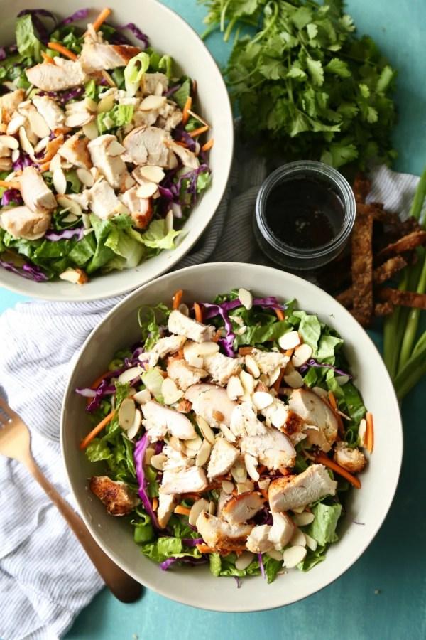 Remodelaholic Recipe Oriental Chicken Salad 3