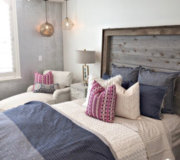 Modern Rustic Girls Bedroom Shop This Look