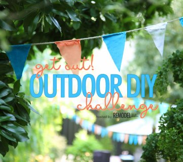 Get Out! The Best Outdoor DIY Projects + Tutorials