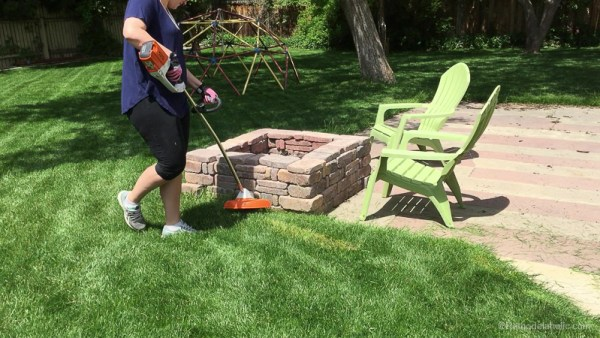 learn to do your own lawn maintenance Like A Pro With Stihl @Remodelaholic 23