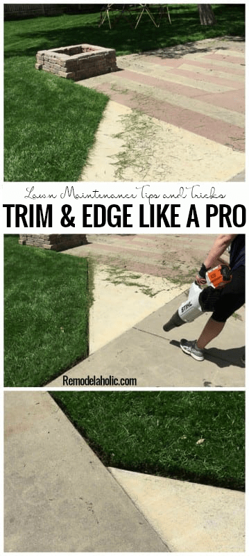 Trim And Edge Your Lawn Like A Pro With Stihl and Remodelaholic