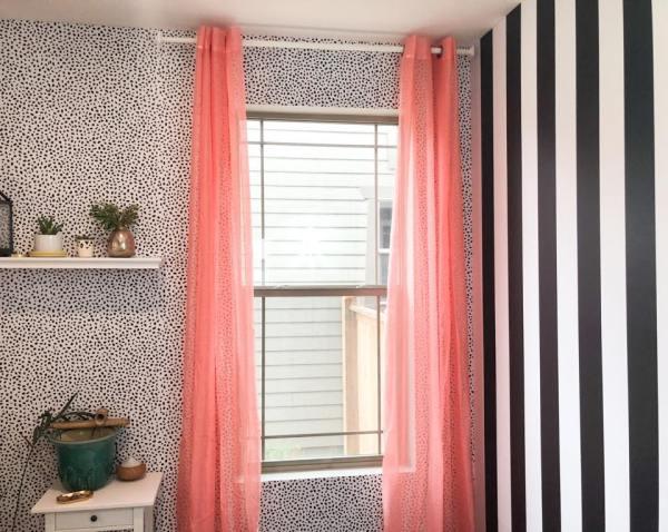 Adarlingdesign Colorful Curtains