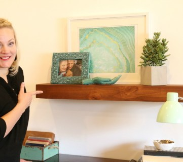 How to Build a DIY Floating Shelf (or Two!)