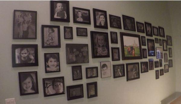 Remodelaholic Gallery Wall Simplified 48