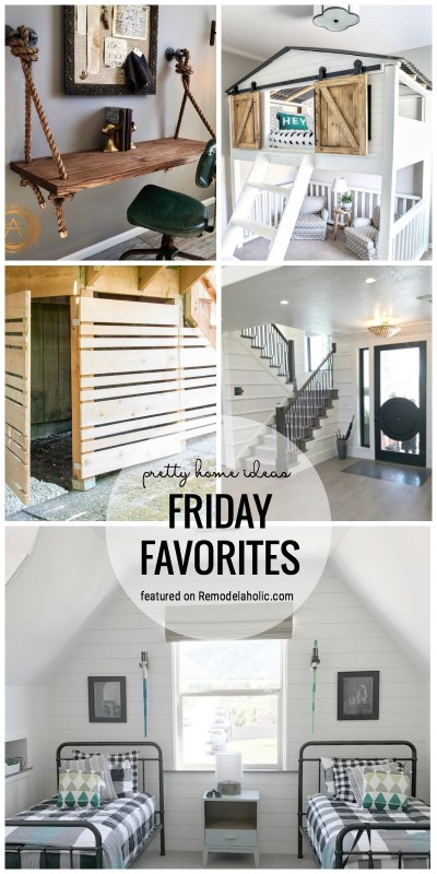 Pretty Home Ideas Featured On Friday Favorites At Remodelaholic.com #fridayfavorites #prettyhomeideas #homeinspiration