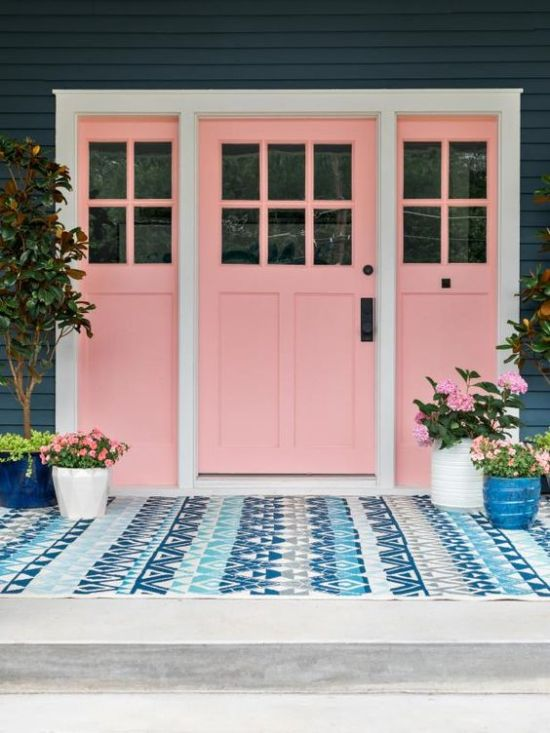 Remodelaholic 10 Swoon Worthy Millennial Pink Infused Spaces