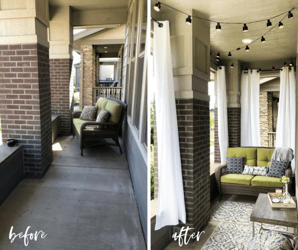 Cozy Front Porch, A Darling Design