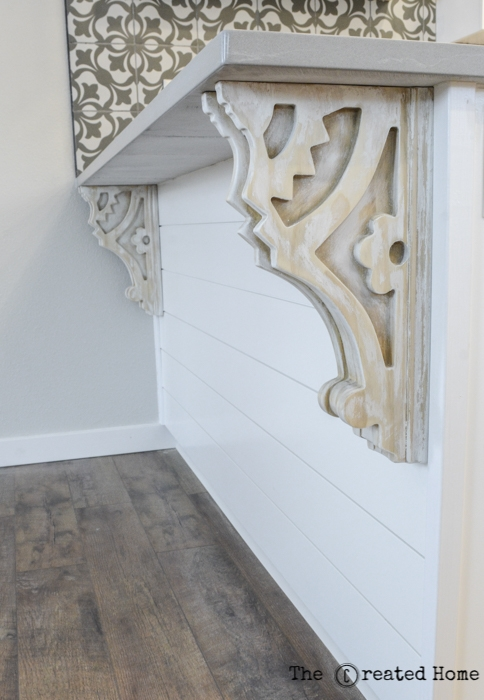 Diy Carved Antique Corbels, The Created Home