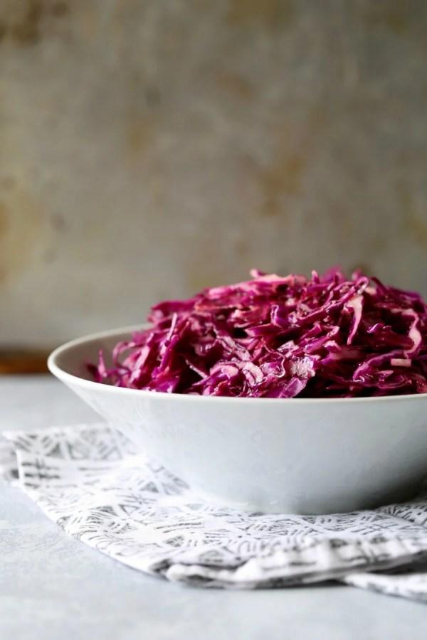 Remodelaholic Recipe Red Cabbage Slaw 6