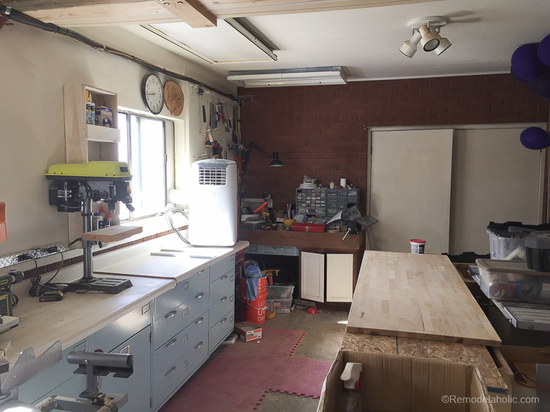 Table Saw Workbench @Remodelaholic 2