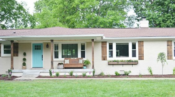 Reimagined Ranch Exterior and Curb Appeal Ideas