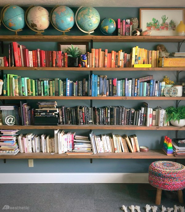 Bookshelf DIY By AD Aesthetic