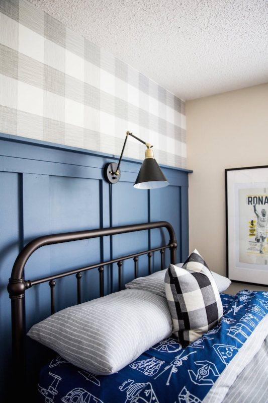 Boys Navy Gray Bedroom Decor Sincerely Sara D