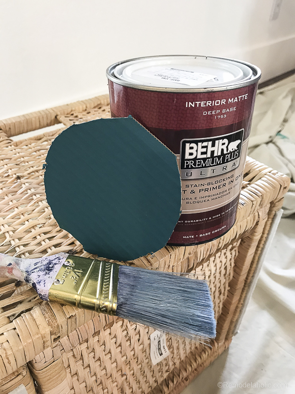 BEHR Pint 2019 Color Of The Year Project @Remodelaholic 8
