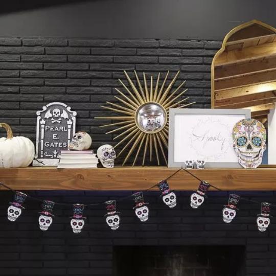 Easy Dollar Store Halloween Hacks And Mantel Decor