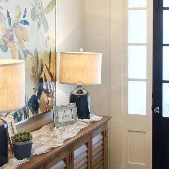 Get This Look Modern Rustic Entryway