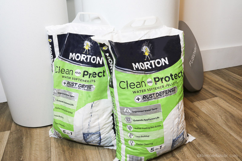The Benefits Of Soft Water With Morton Salt @Remodelaholic 682