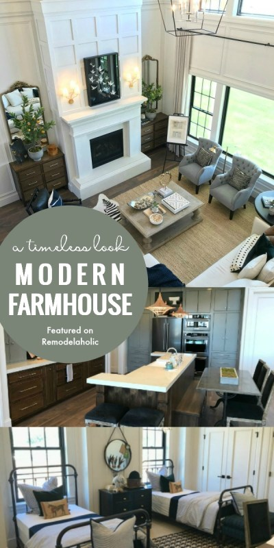 Blending Modern And Farmhouse Style For A Timeless Look, Arive Homes And Brandalyn Dennis Design, 2018 Utah Valley Parade Of Homes, Featured On Remodelaholic